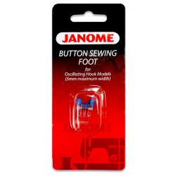 Janome Button Sewing Foot (for 5mm Models)
