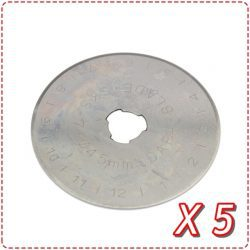 45mm Replacement Blades (Set of 5)