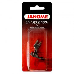 Janome Quarter Inch Foot (for DB Hook Models)