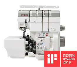 Janome Air Thread Overlocker is a winner of the IF Design Awards 2020
