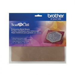 Brother Scan N Cut Embossing Metal Sheets