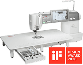Janome Continental M7 Professional IF Design Awards 2020