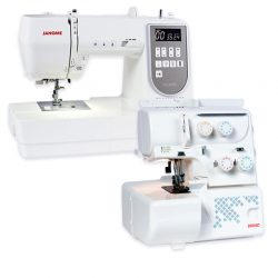Janome DC6050 and 8004D Combo Deal
