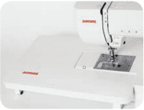 Janome DC6050 extension table