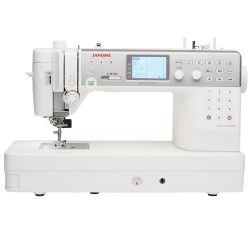 Janome MC6700P Quilting Sewing Machine (Front View)