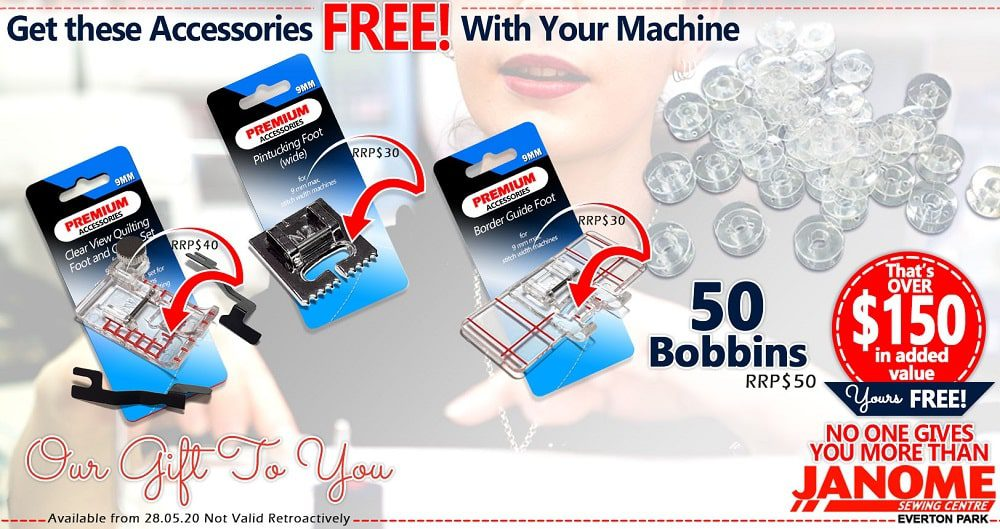 Our Exclusive Bonus with the MC9850