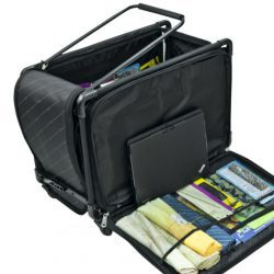 Tutto Trolley Bag with the Side Open