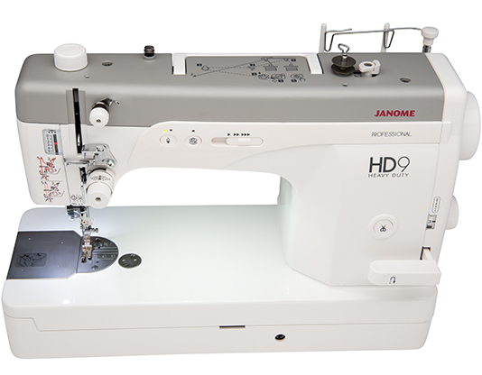 Top view of the Janome HD9